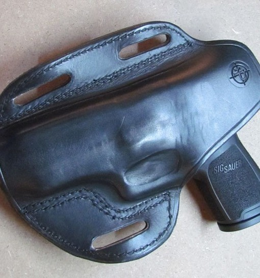 HolsterPro Model 758 Back